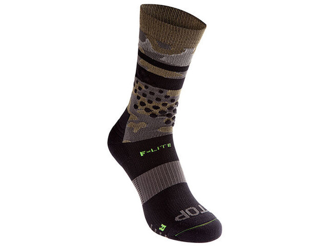 inov-8 F-Lite Crew Socks, black/camo